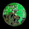 Electronic globe Royalty Free Stock Image