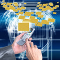 Electronic the Internet mail Royalty Free Stock Photo