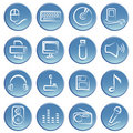 Electronic item icon Royalty Free Stock Photography