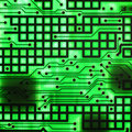 Electronic semi conductor Royalty Free Stock Photos