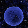 Electronic Tech Earth Globe Stock Photo