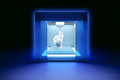 Electronic three dimensional plastic printer, 3D printer, 3D printing