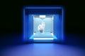 Electronic three dimensional plastic printer, 3D printer, 3D printing