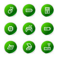 Electronics 2 web icons Royalty Free Stock Images