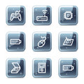 Electronics web icons set 2 Stock Photography