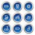 Electronics web icons set 2 Stock Photo