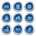 Electronics web icons set 2 Stock Photo