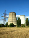 Electropower station urban high capacity heat Stock Image