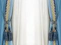 Elegance curtain tassel Royalty Free Stock Photo