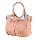 Elegance lady leather handbag Royalty Free Stock Photography