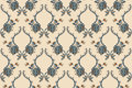 Elegance seamless pattern with flowers ornament floral illustration in vintage style Stock Images