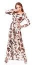 Elegancy stylish lady wearing glamorous fashion dress Royalty Free Stock Images