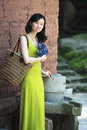 Elegant asian lady Stock Photos