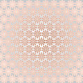 Elegant background with laconic pink flowers and silver backdrop Royalty Free Stock Photos