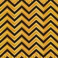 Elegant black and gold geometric seamless zigzag pattern. chevron pattern background, wrapping paper, fabric pattern, wallpaper.
