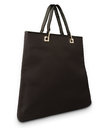 Elegant black handbag  Stock Photo