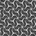 An elegant black and white, vector pattern Royalty Free Stock Image