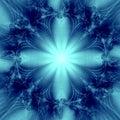 Elegant Blue  Star Background Stock Images