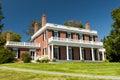 Elegant brick mansion Royalty Free Stock Photo