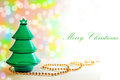 Elegant Christmas background- Christmas card Stock Photography