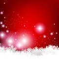 Elegant christmas background illustration of Stock Photo