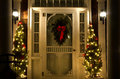 Elegant Christmas Doorway At N...