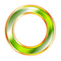 Elegant circle logo shiny Stock Photo