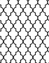 CLASSIC ARABESQUE SEAMLESS VECTOR PATTERN. ELEGANT DECORATIVE TEXTURE. WALLPAPPER, COVER BACKGROUND