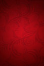 Elegant, deep red Christmas background Royalty Free Stock Photo