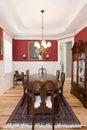Elegant diningroom Royalty Free Stock Photo