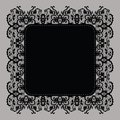 Elegant doily on lace gentle background Stock Images