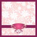 Elegant Flower Decoration - pink Royalty Free Stock Photos