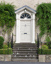 Elegant Formal Georgian House Entrance Royalty Free Stock Photo
