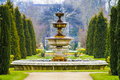 Elegant Fountain With Dripping Water in Regent's Park, London Royalty Free Stock Photo