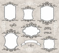 Elegant frames  Royalty Free Stock Images
