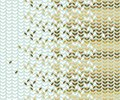 Elegant gold and pale green leaf pattern. Royalty Free Stock Photo
