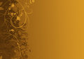 Elegant Golden Abstract Backgr...