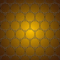 Elegant golden pattern Royalty Free Stock Photography