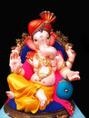 Elegant Lord Ganesha Royalty Free Stock Photos