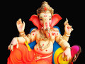 Elegant Lord Ganesha Royalty Free Stock Photo