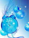 Elegant New Year background Stock Photos