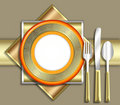 ELEGANT place setting Royalty Free Stock Photo