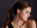 Elegant Profile Royalty Free Stock Image