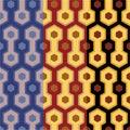 Elegant retro art deco/art nuvo seamless set of patterns