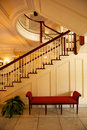 Elegant staircase Royalty Free Stock Photo
