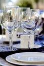 Elegant Stemware Stock Photos
