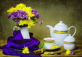 Elegant Tea Time Royalty Free Stock Photo