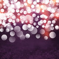 Elegant Textured Grunge Purple, Gold, Pink Christmas Light Bokeh Background Royalty Free Stock Photo