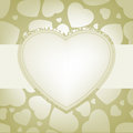 Elegant valentine with glowing hearts eps background vector file included Stock Photos