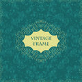 Elegant vintage card Stock Photography
